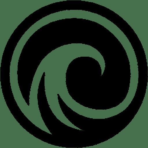 Neutral Ground Academy Wave Logo Black