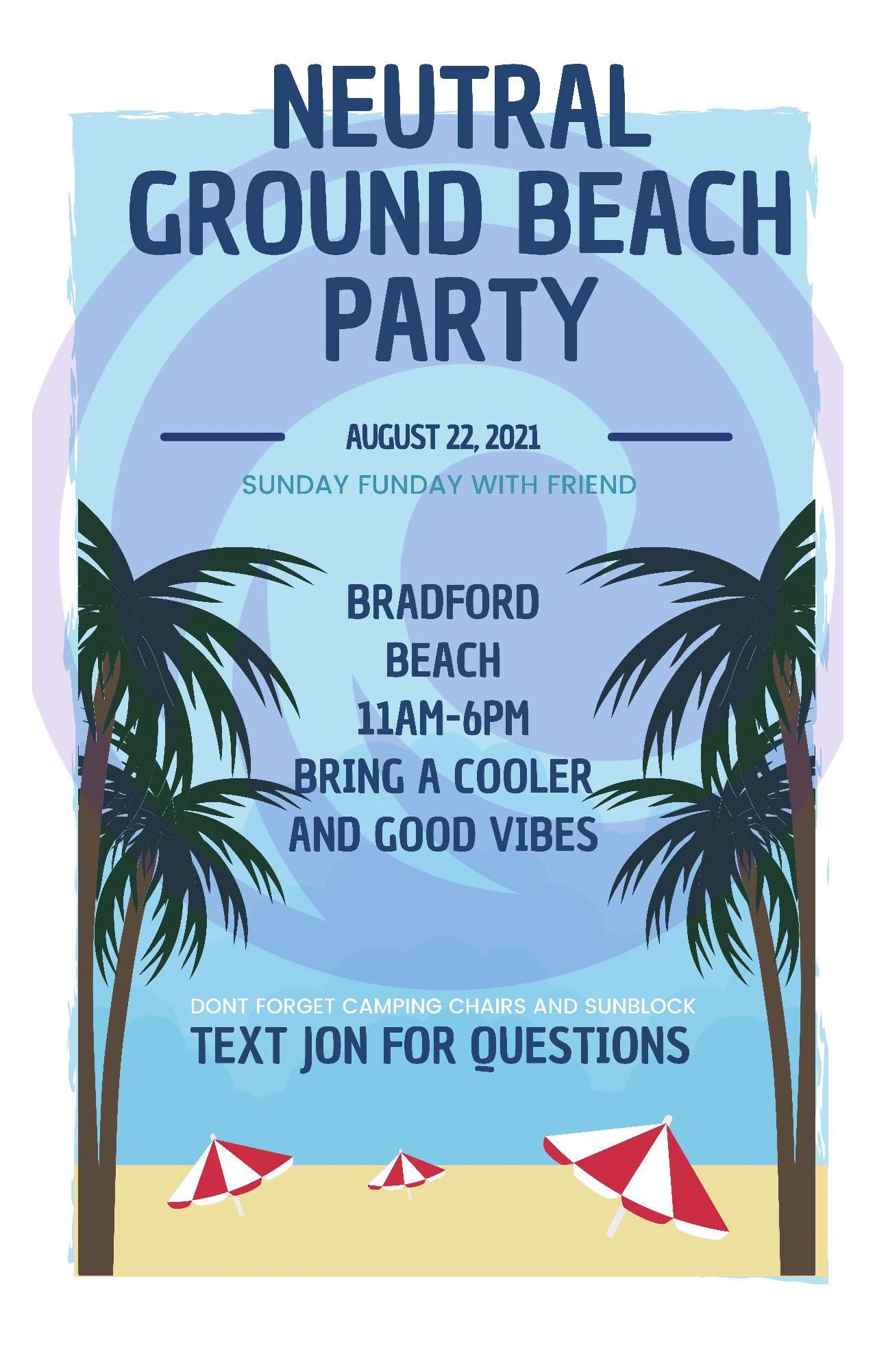 Neutral Ground Beach Party