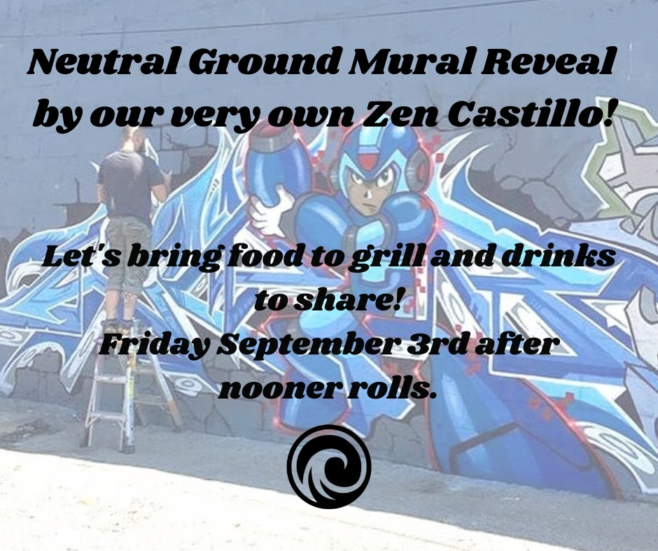 Neutral Ground Mural Reveal