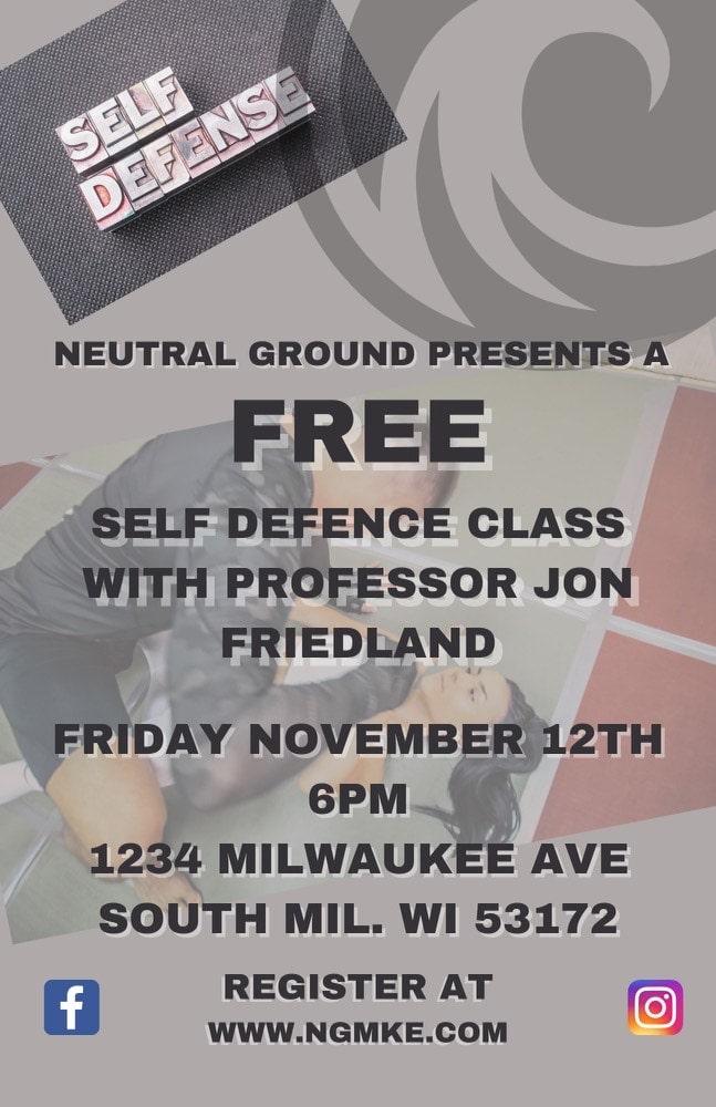 FREE Self-Defense Clinic